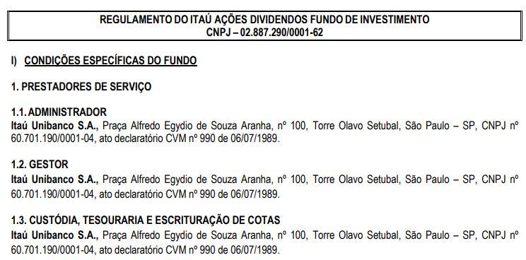 Fundo do Itau
