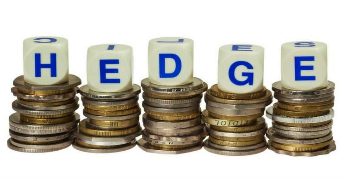 o Hedge para obter segurança em aplicações financeiras