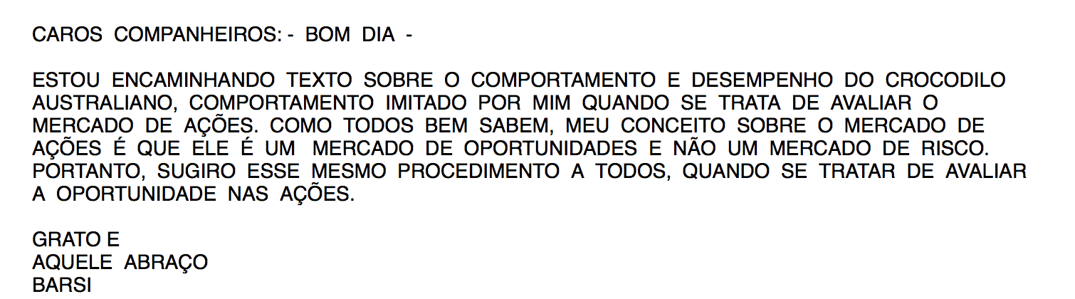 Email do Luiz Barsi