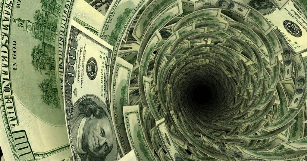 A inadimplência consiste no não pagamento de compromissos financeiros