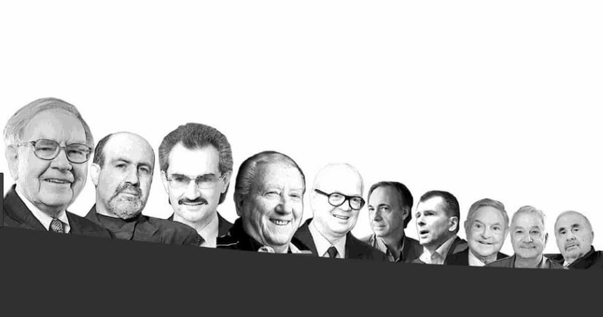 Investidores de Sucesso: Conheça alguns dos maiores nomes do mercado
