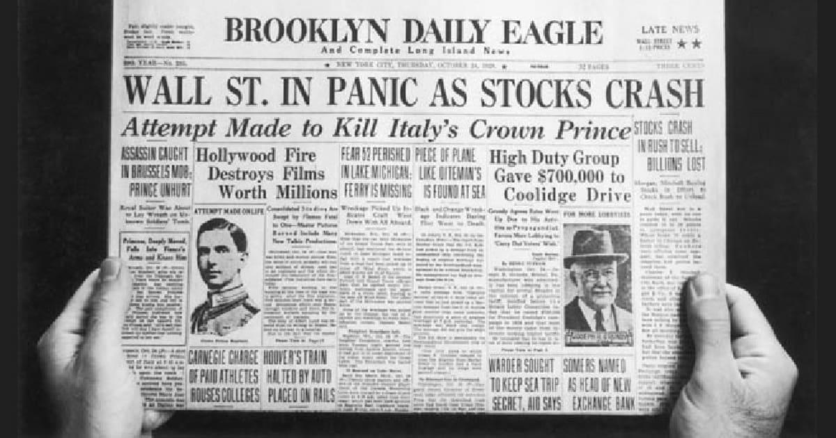 A grande depressão foi uma grave crise que afetou o mundo ao final da década de 1920