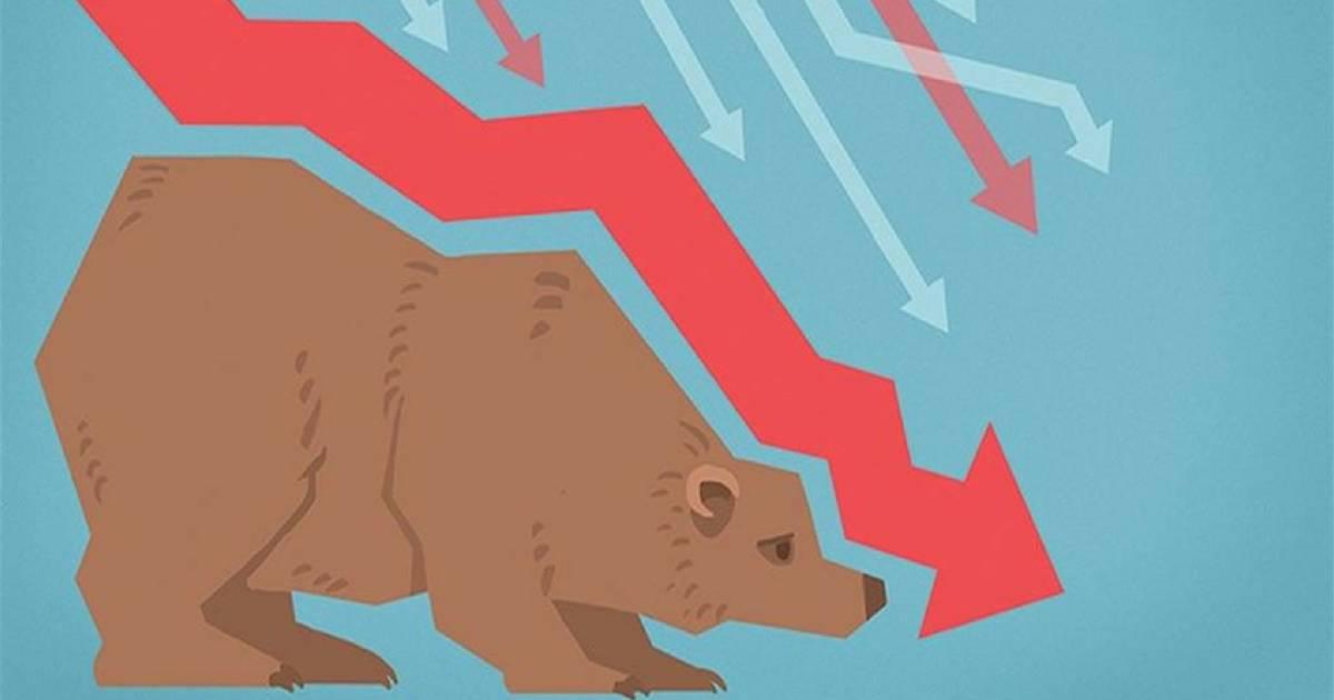 Bear Market é uma expressão que representa um cenário de queda prolongado