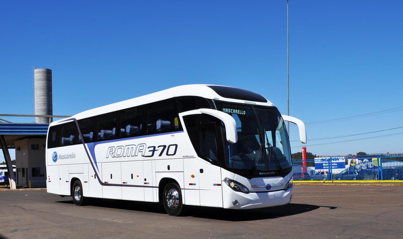 Faturamento da Marcopolo - onibus rodoviario