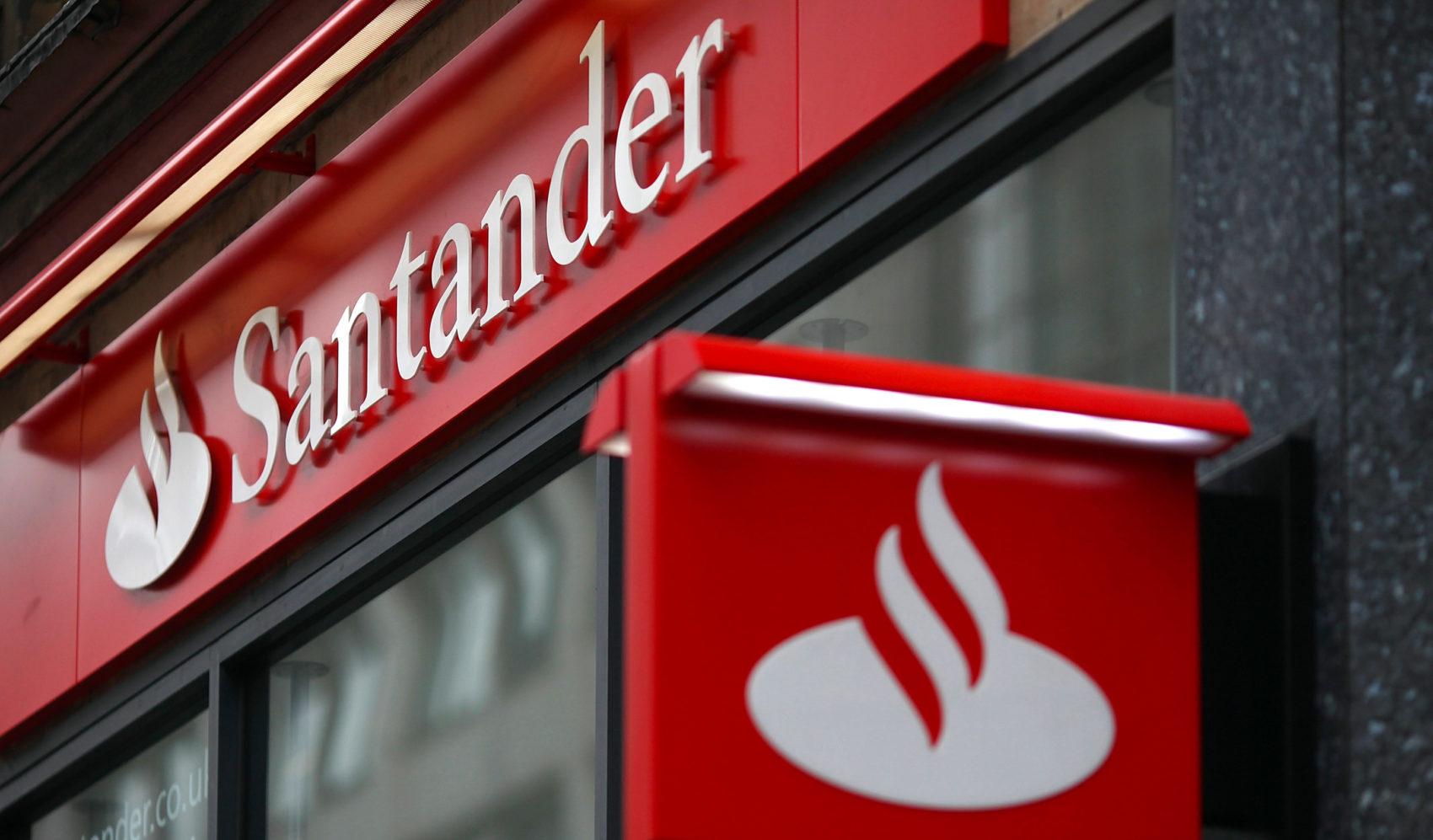 Faturamento e o lucro do Santander