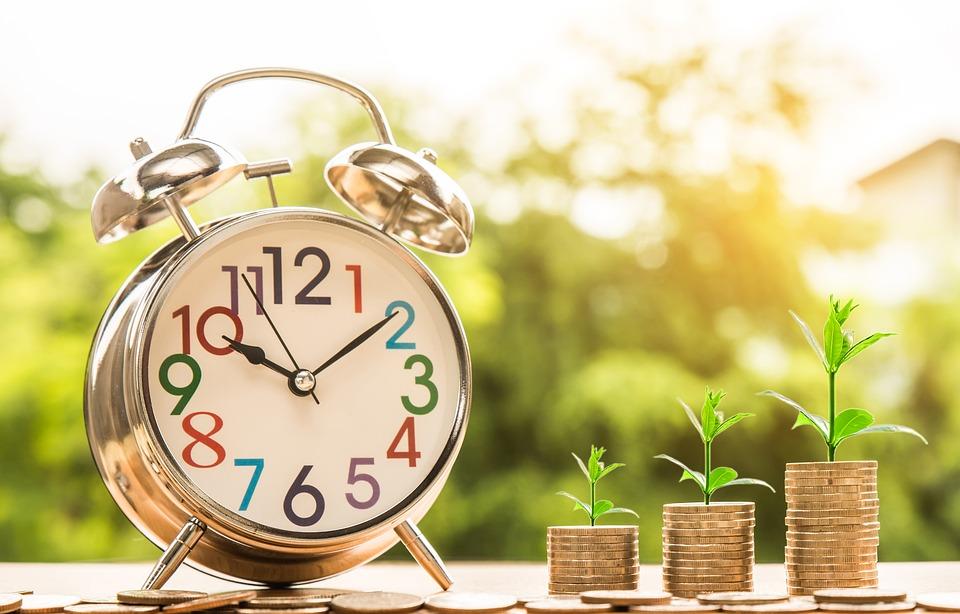 tempo para viver de renda