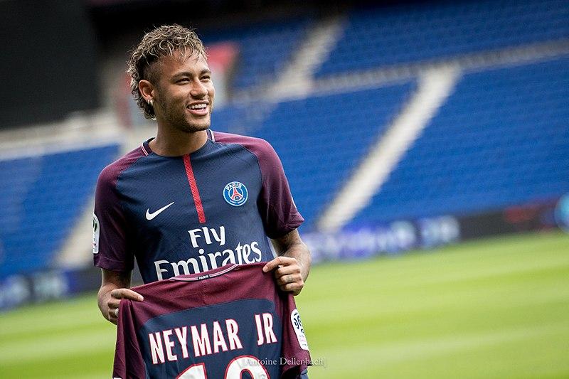 neymar é rico apresentação psg