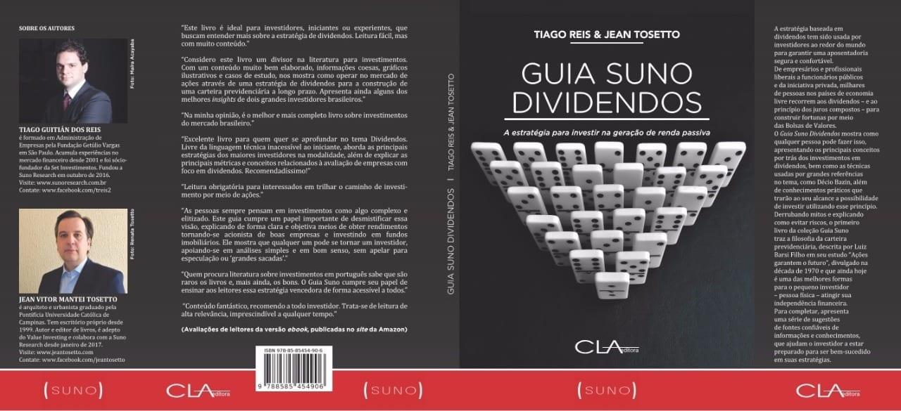 Guia Suno Dividendos agora em versão impressa