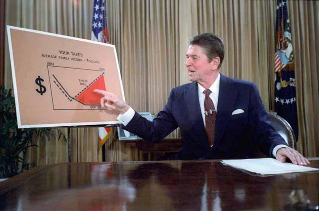 Reaganomics: Como o governo Reagan 'liberalizou' a economia americana