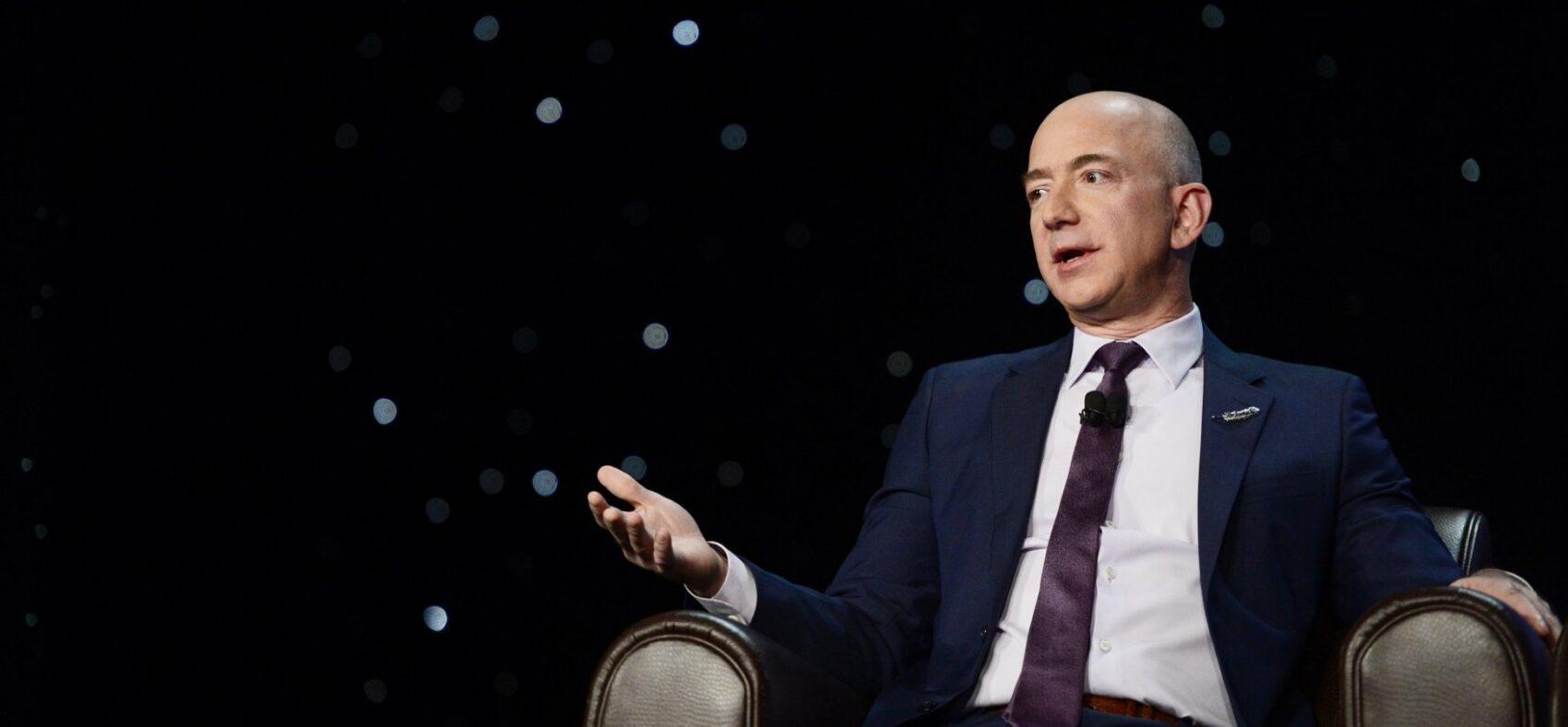 Jeff Bezos, CEO e fundador da Amazon