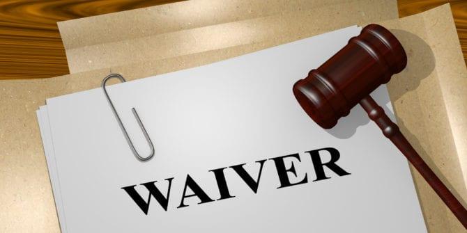 Waiver: qual o significado e como funciona na prática