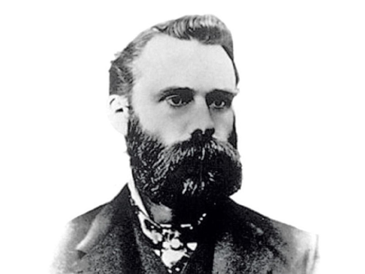Charles Dow - o fundador do The Wall Street Journal e da Dow Jones