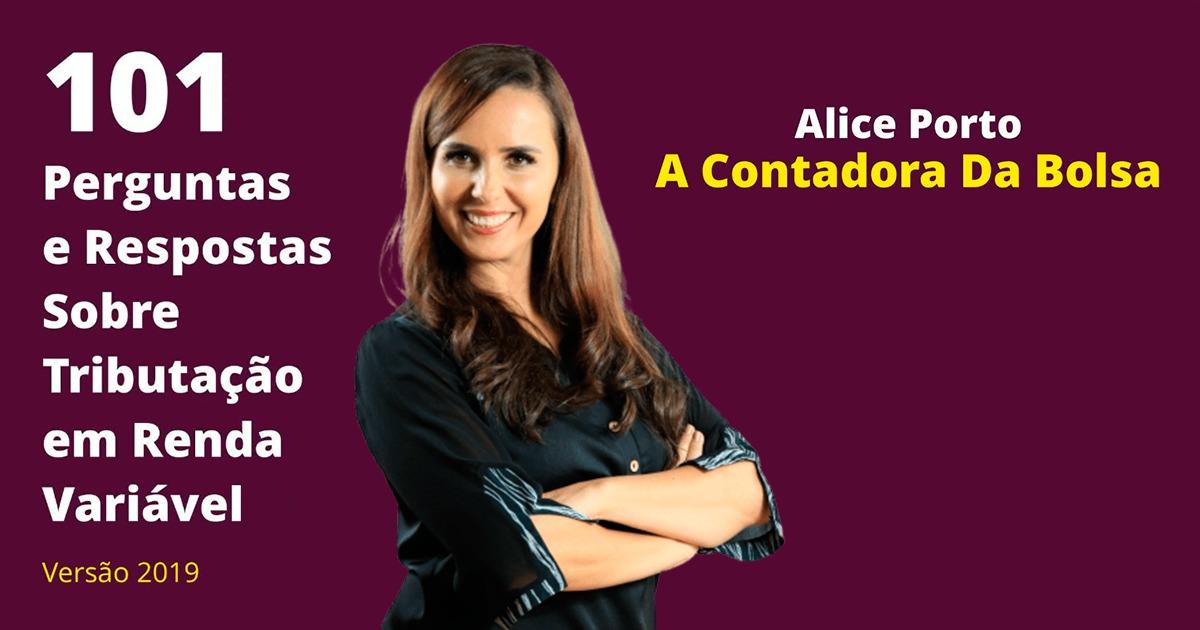Alice Porto – a Contadora da Bolsa – lança seu primeiro livro