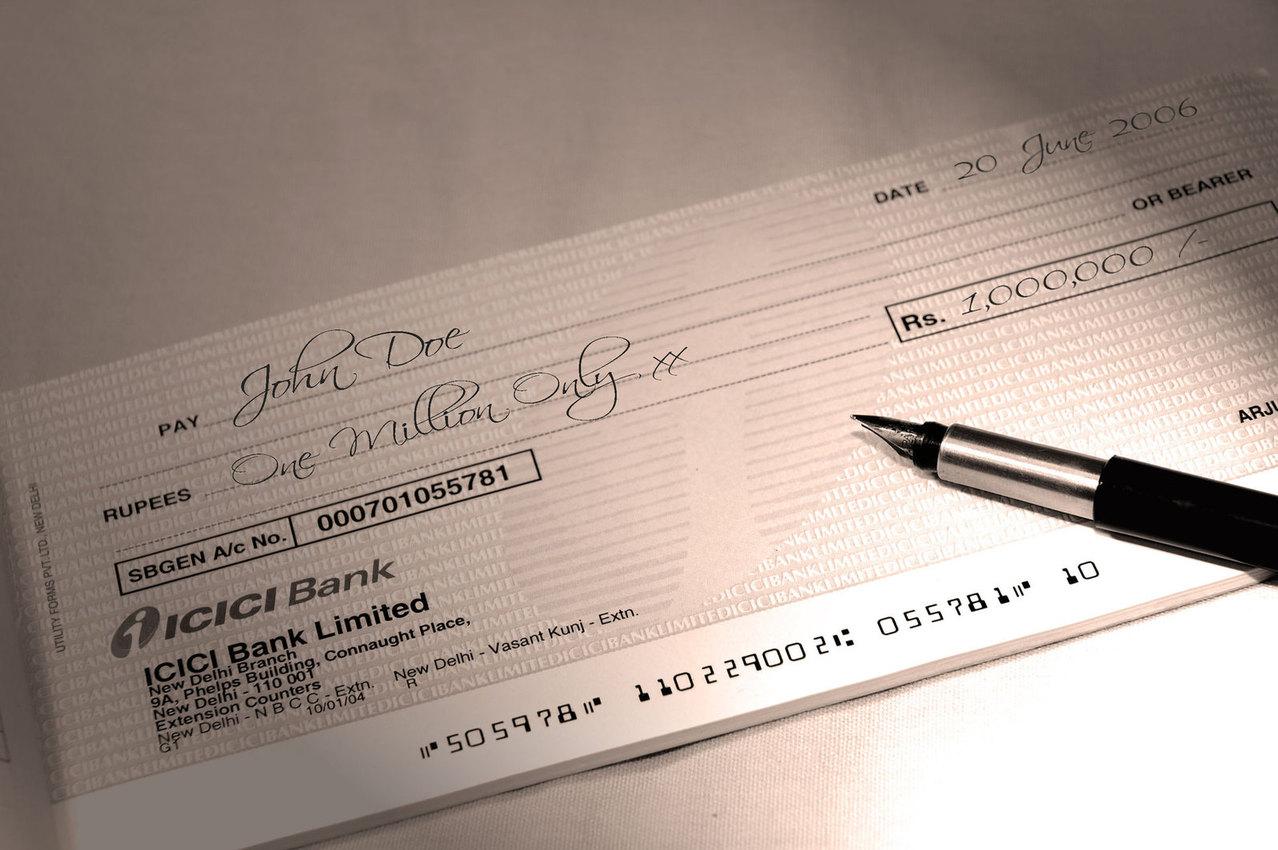 cheque pré-datado