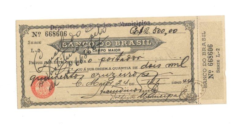 cheque sem fundo