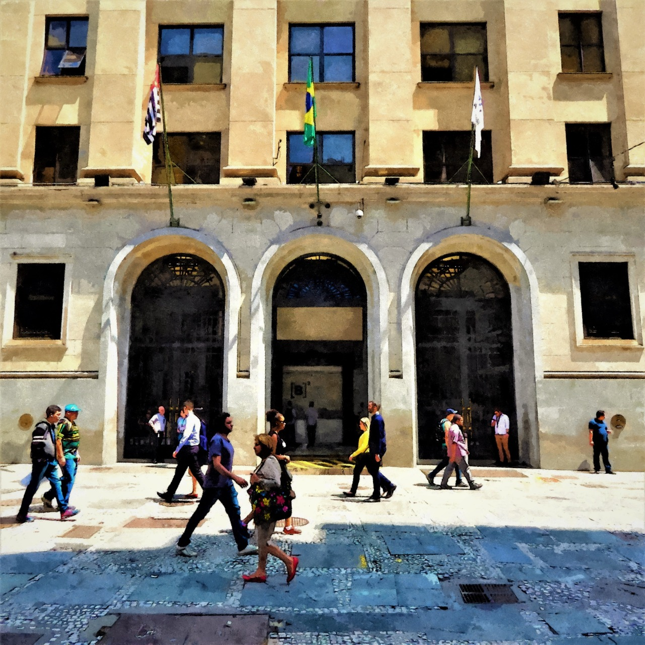 A Bolsa reúne gente com dinheiro suado e produtivo